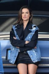 Alessandra Ambrosio - Little Havana Photoshoot in Miami 01/22/2019
