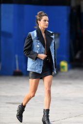 Alessandra Ambrosio - Little Havana Photoshoot in Miami 01/22/2019