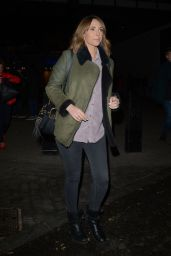 Alex Jones - Leaving the One Show Studios in London 01/23/2019