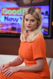 Alice Eve - Good Day New York Morning Show in New York 01/08/2019
