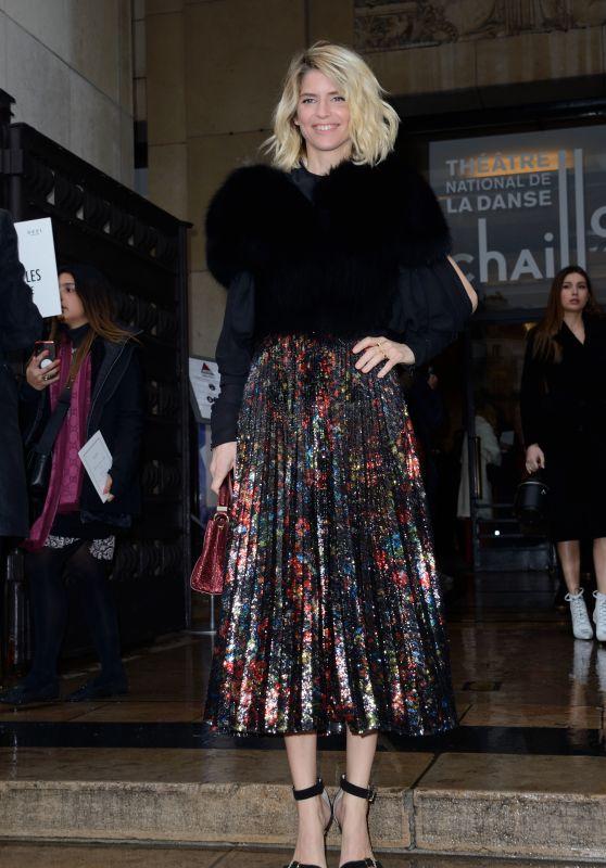 Alice Taglioni – Elie Saab Haute Couture Spring Summer 2019 Show in Paris