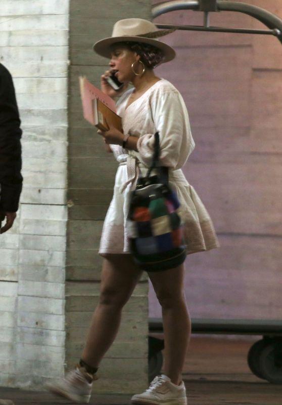 Alicia Keys and Swizz Beatz - Cancun International Airport 01/28/2019