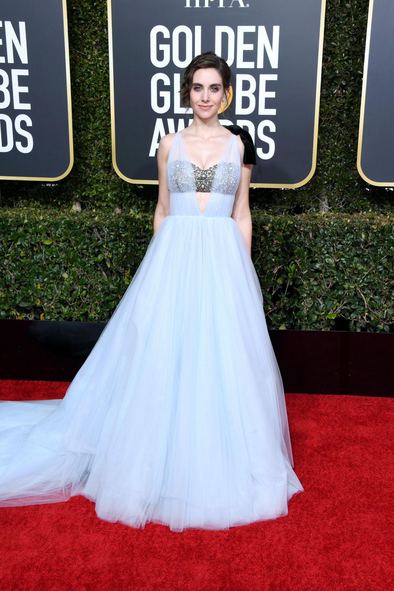 Alison Brie 2019 Golden Globe Awards