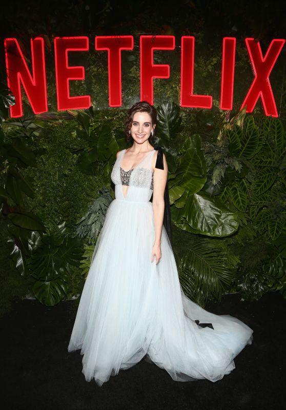 Alison Brie – Netflix 2019 Golden Globe After Party