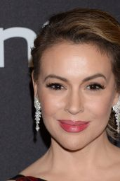 Alyssa Milano – InStyle and Warner Bros Golden Globe 2019 After Party