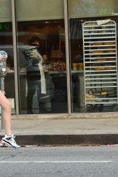 Amanda Steele Leggy in Mini Skirt 01/09/2019