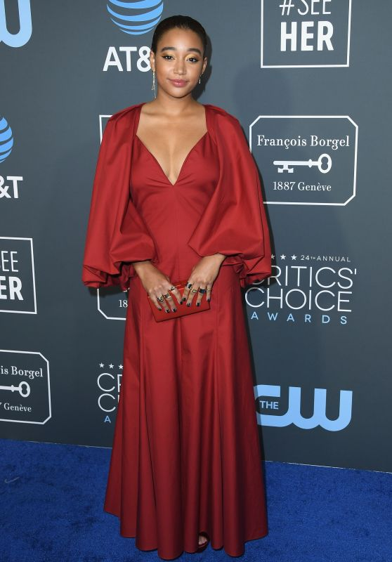 Amandla Stenberg – 2019 Critics' Choice Awards