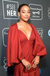 Amandla Stenberg – 2019 Critics' Choice Awards