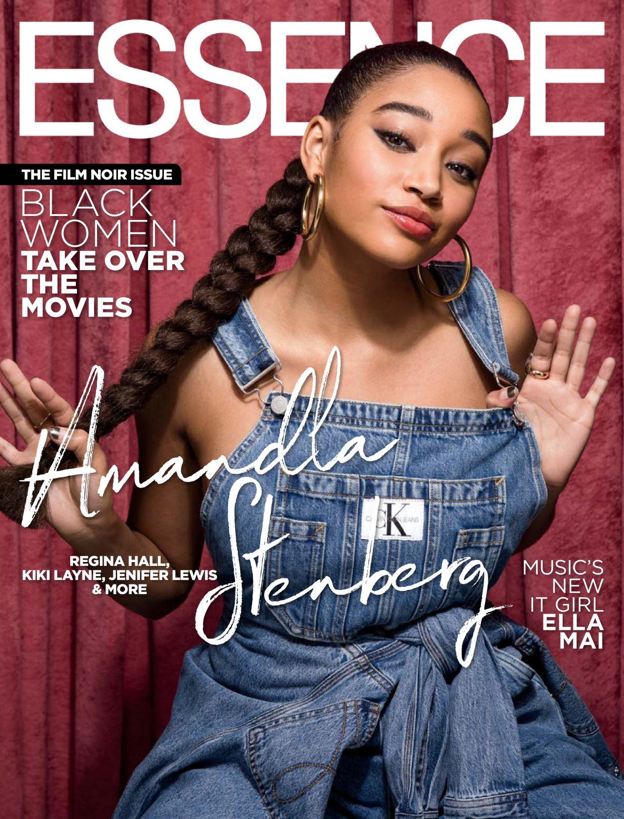 Amandla Stenberg, Kiki Layne, Regina Hall and Jenifer Lewis – Essence Magazine USA February 2019 Issue