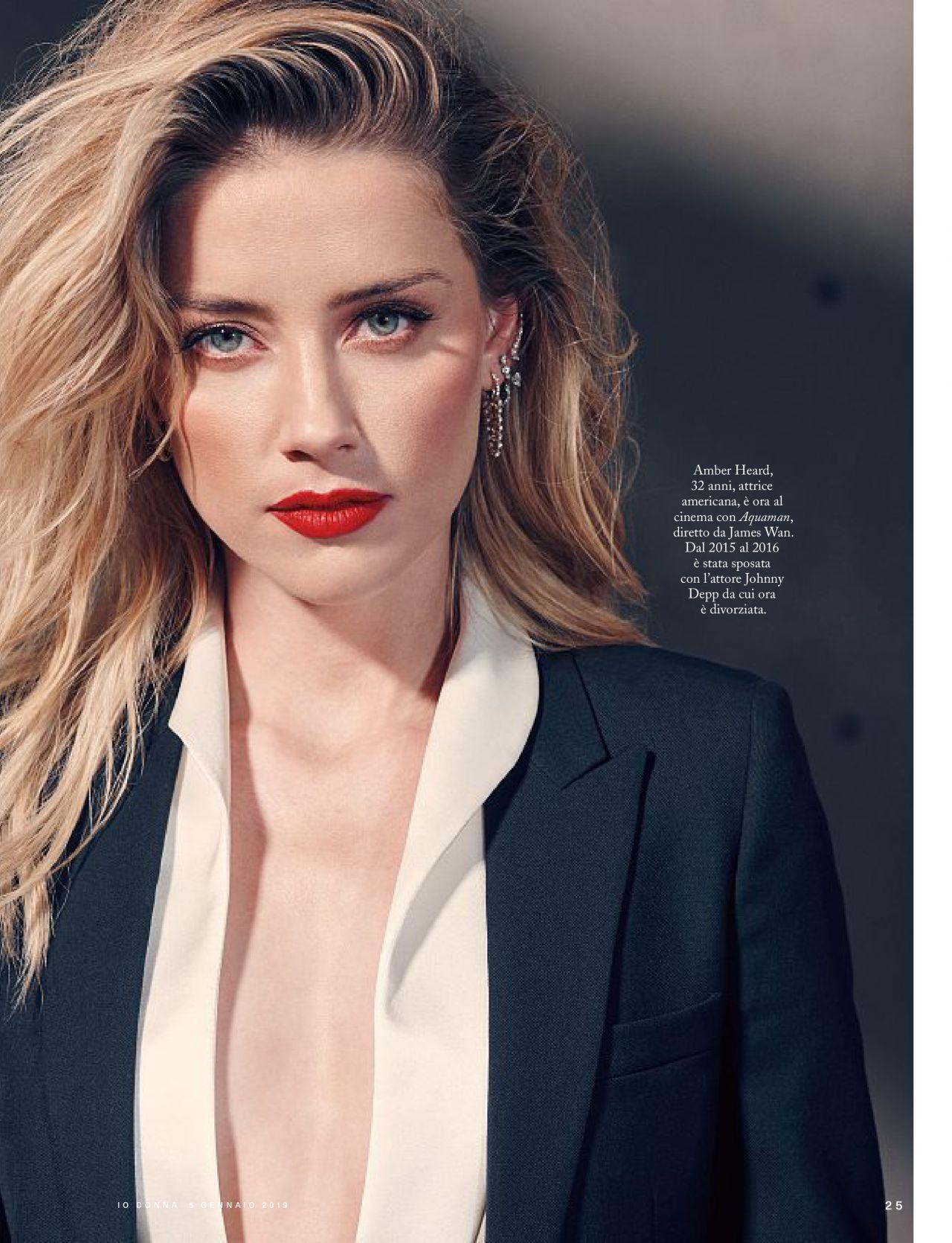 Amber Heard - Io Donna...