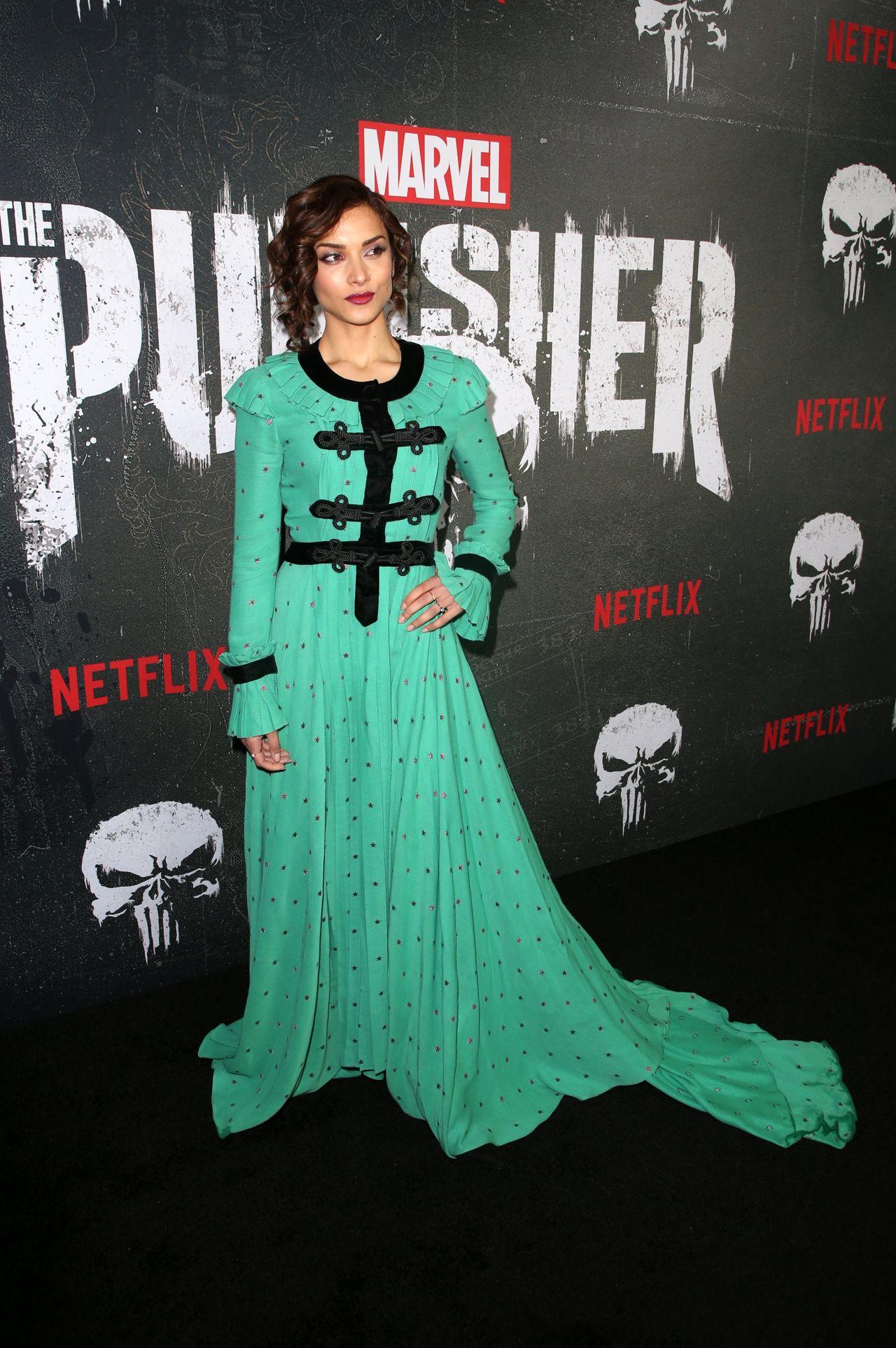 Amber Rose Revah The Punisher Season 2 Premiere In La