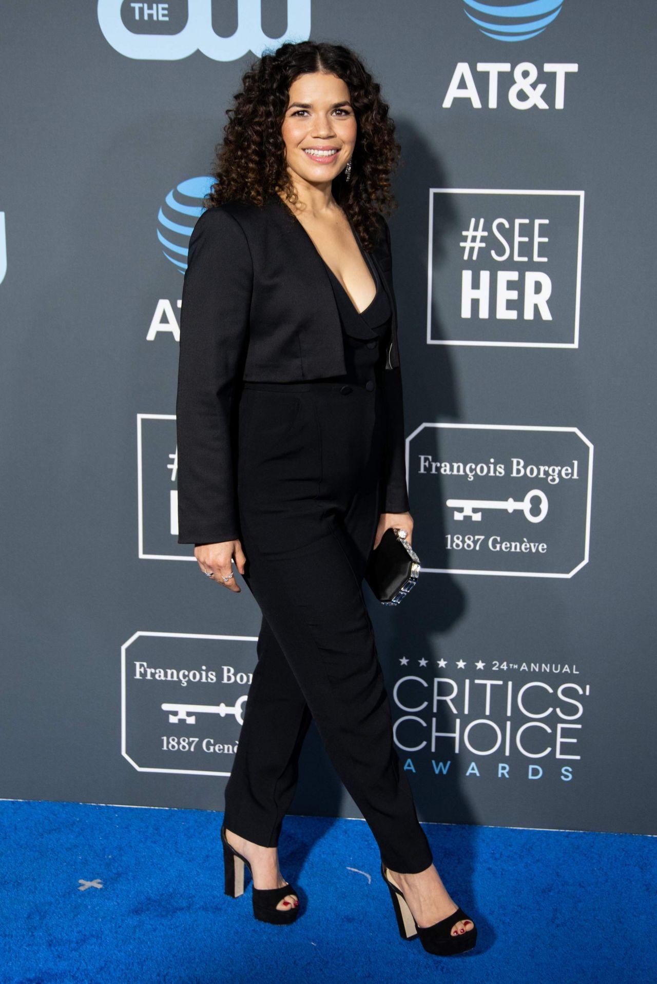 America Ferrera 2019 Critics Choice Awards