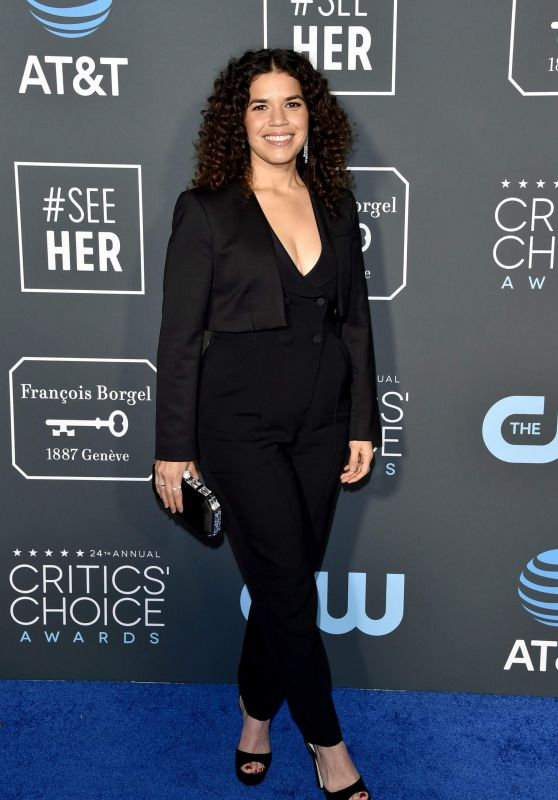 America Ferrera – 2019 Critics' Choice Awards