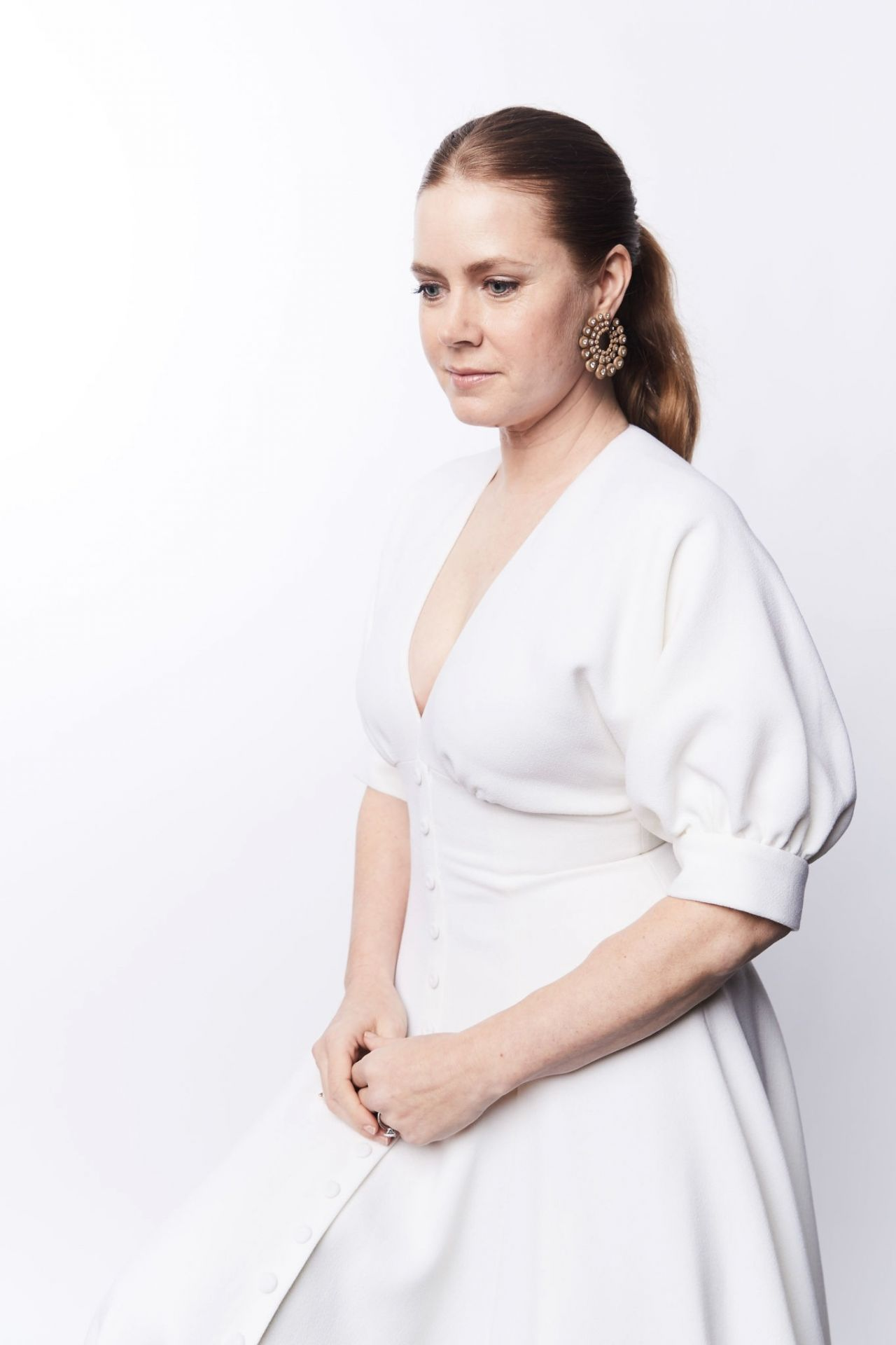 Amy Adams 2019 Bafta Tea Party Portraits