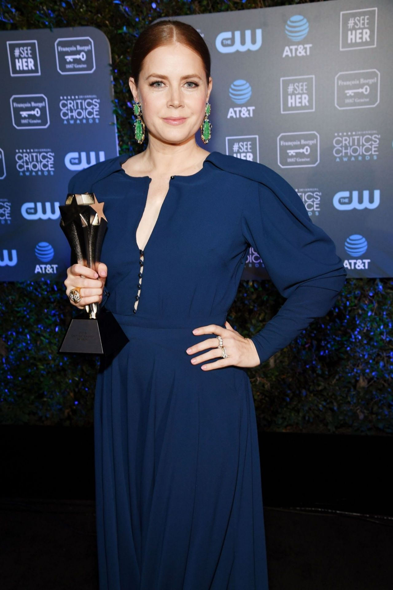 Amy Adams 2019 Critics Choice Awards