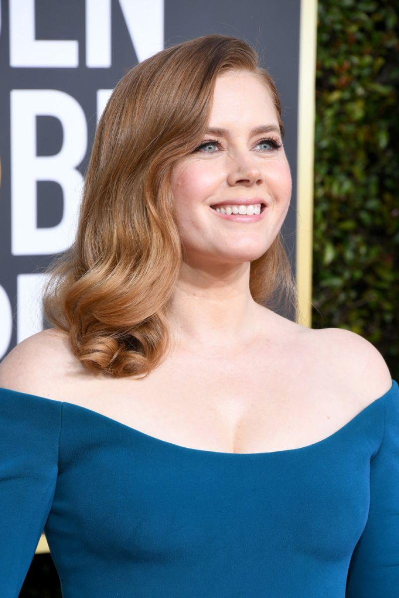 Amy Adams – 2019 Golden Globe Awards Red Carpet