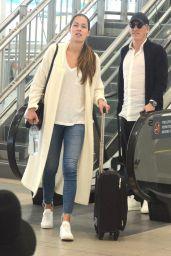 Ana Ivanovic and Bastian Schweinsteiger Touch Down in Sydney 01/08/2019