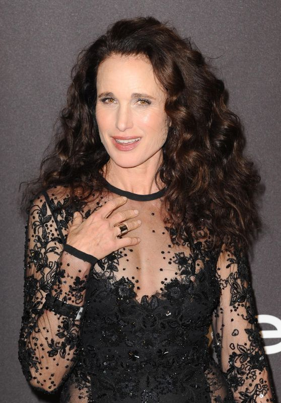Andie MacDowell – InStyle and Warner Bros Golden Globe 2019 After Party