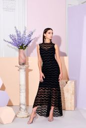 Angela Sarafyan - Christian Siriano Pre-Fall 2019 Fashion Collection Photoshoot