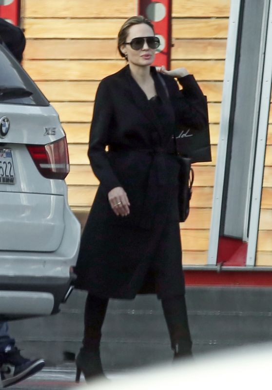 Angelina Jolie - Out in West Hollywood 01/08/2019