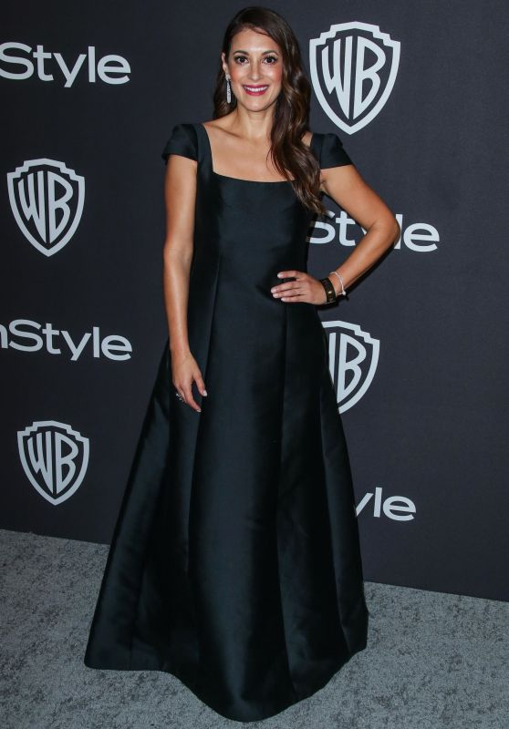 Angelique Cabral – InStyle and Warner Bros Golden Globe 2019 After Party