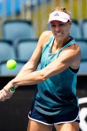 Angelique Kerber – Practicing in Melbourne 01/12/2019