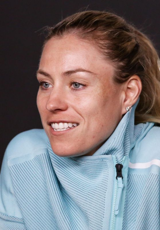 Angelique Kerber – Talks to the Press During Media Day ahead of the 2019 Australian Open