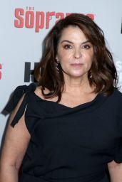 Annabella Sciorra – The Sopranos 20th Anniversary Panel Discussion in NYC