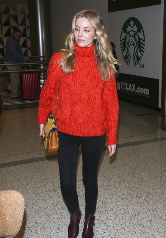 Annabelle Wallis - LAX Airport in Los Angeles 01/16/2019