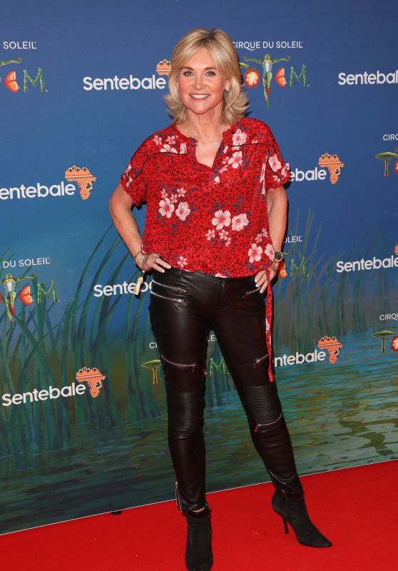 "Anthea Turner – Cirque du Soleil ""Totem"" Premiere in London 01/16/2019"