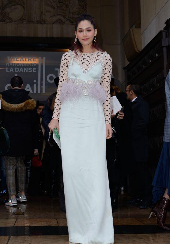 Araya Hargate - Elie Saab Haute Couture Spring Summer 2019 Show in Paris