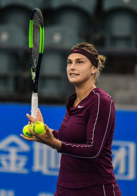 Aryna Sabalenka – Shen Zhen Open Tennis Tournament 01/02/2019