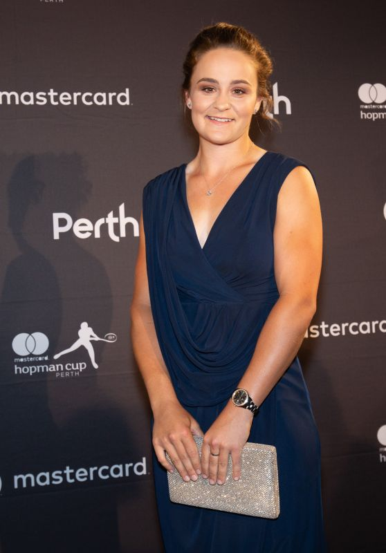Ashleigh Barty – Hopman Cup New Year's Eve Gala in Perth 12/31/2018