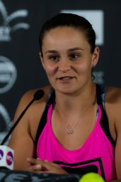 Ashleigh Barty - Talks to the Media at Sydney International in Sydney 01/10/2019