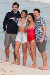 Ashley Iaconetti and Carly Waddell - Bikini Photoshoot on Cancun Beach 01/20/2019