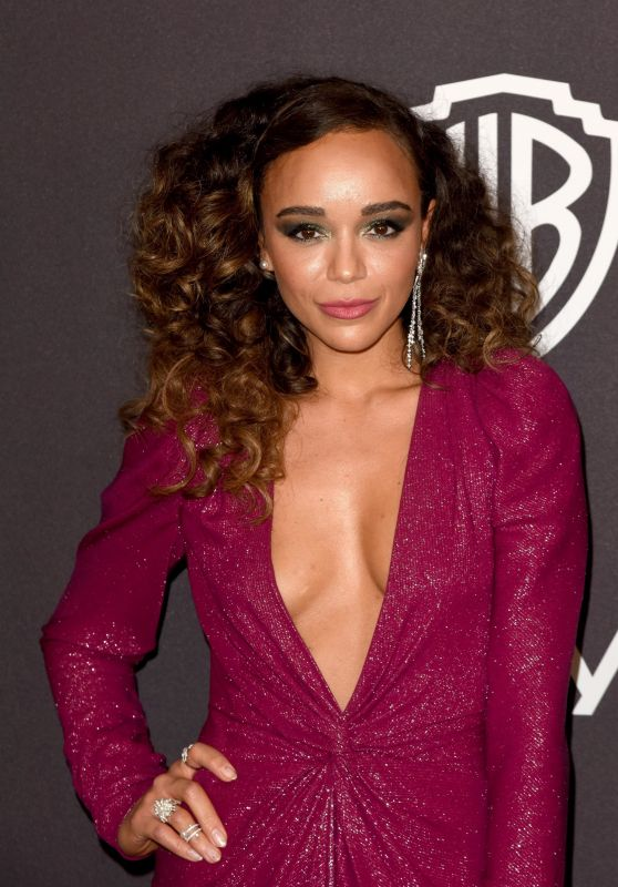 Ashley Madekwe – InStyle and Warner Bros Golden Globe 2019 After Party
