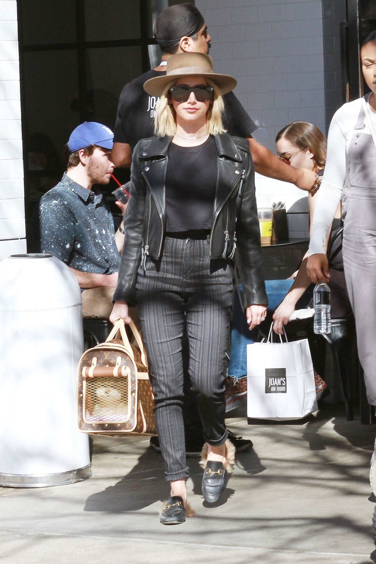 Ashley Tisdale And Christopher French Out At Farmer S