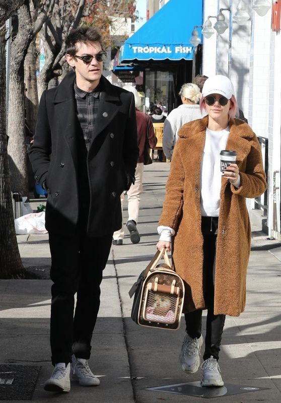 Ashley Tisdale and Christopher French - Out in Studio City 01/06/2019