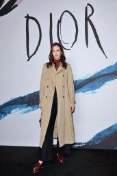 Aymeline Valade – Dior Homme Menswear Show in Paris 01/18/2019