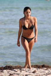 Bianca Peters in a Black Bikini 01/08/2019