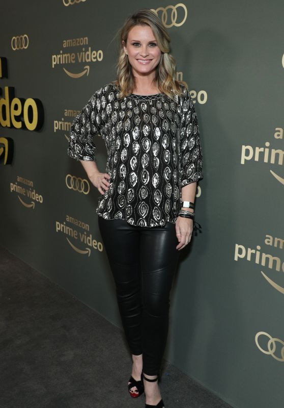 Bonnie Somerville – Amazon Prime Video's Golden Globe 2019 Awards After Party