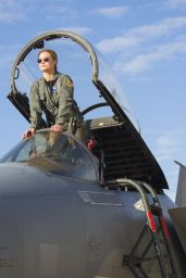 "Brie Larson - ""Captain Marvel"" Posters and Photos 01/17/2019"