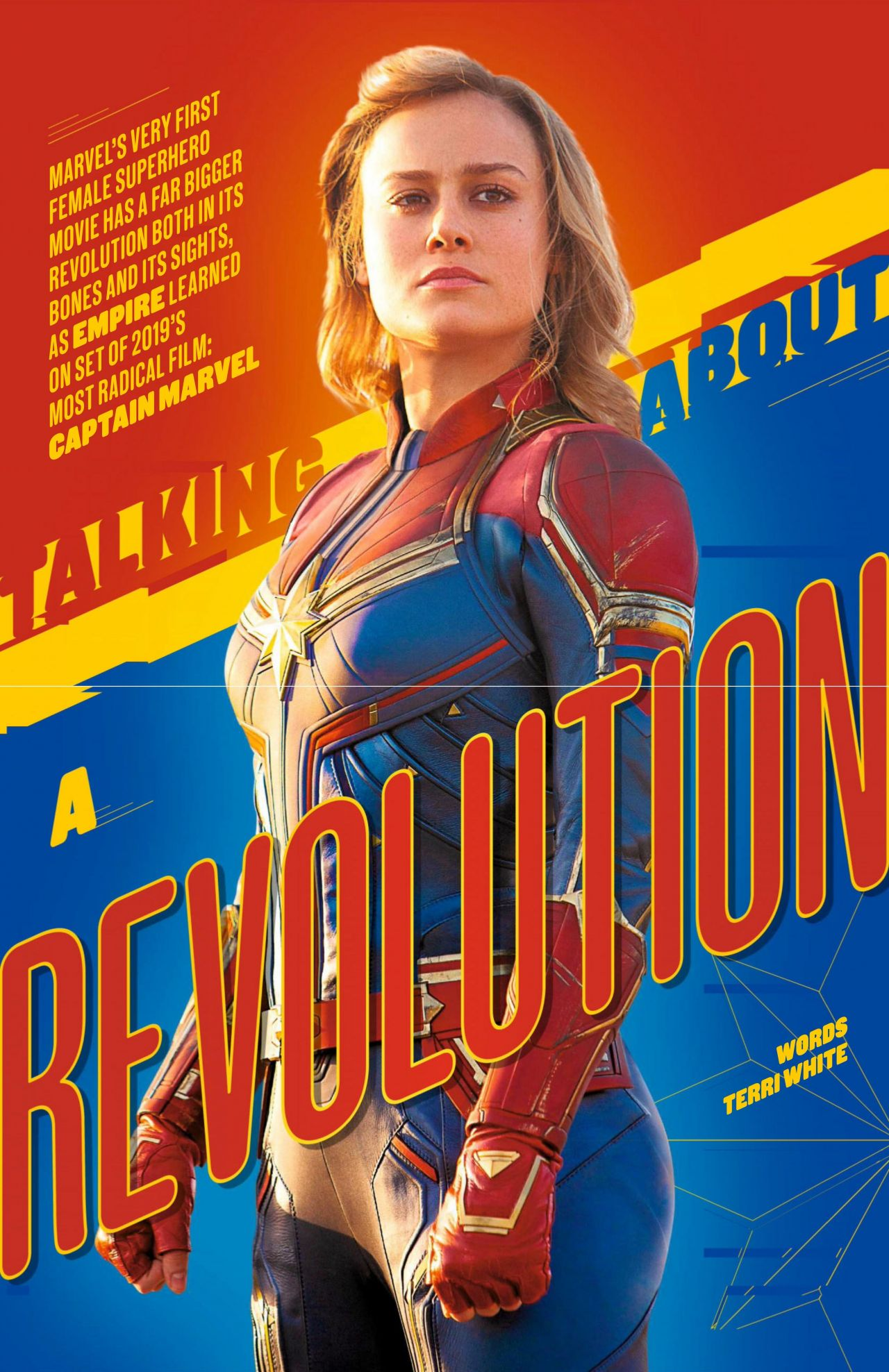 Brie Larson Empire Uk February 2019
