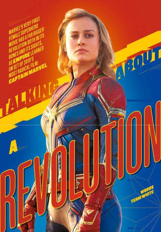 Brie Larson - Empire UK February 2019