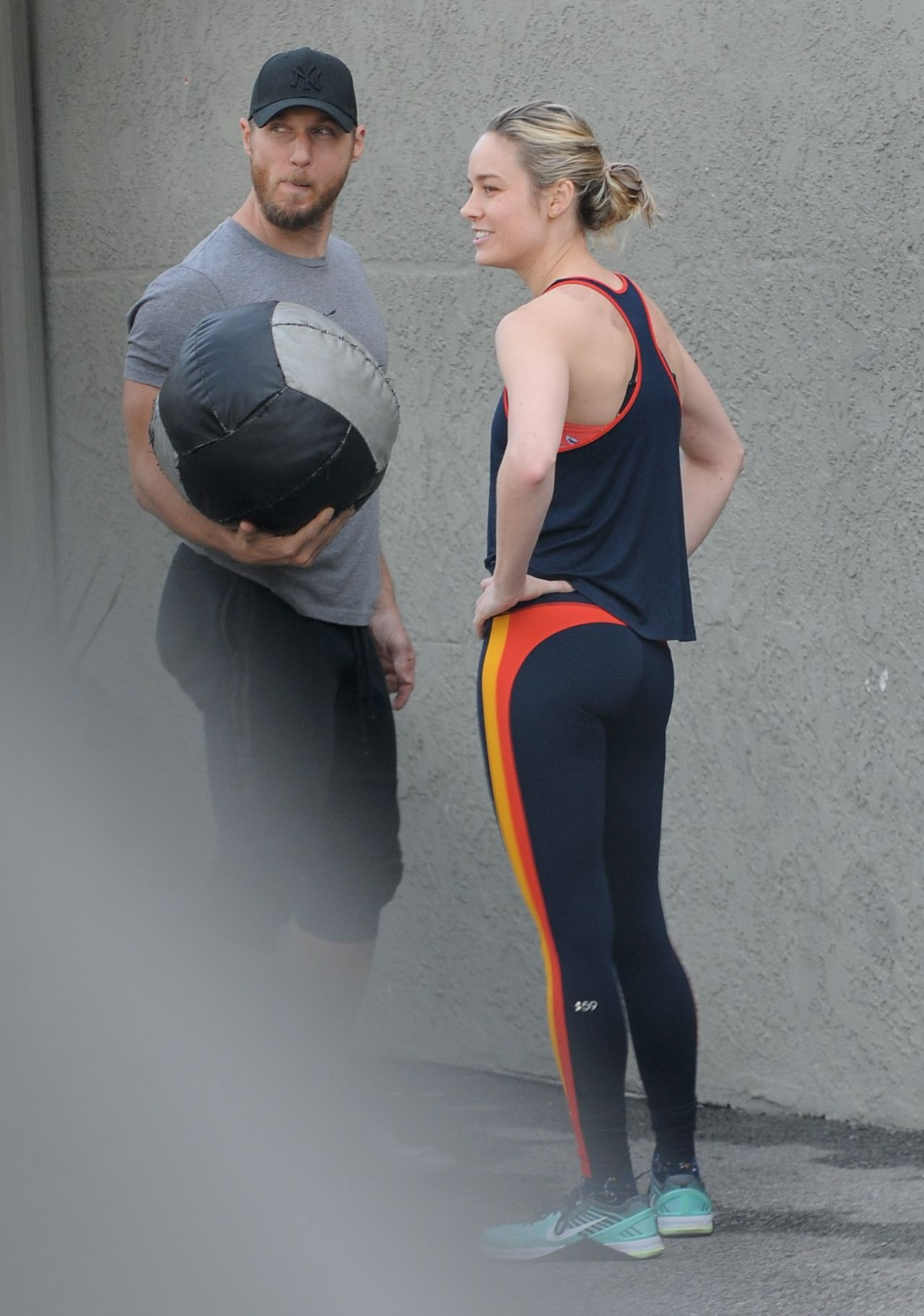 Brie Larson Works Up A Sweat At The Gym In La, January 2019-1853