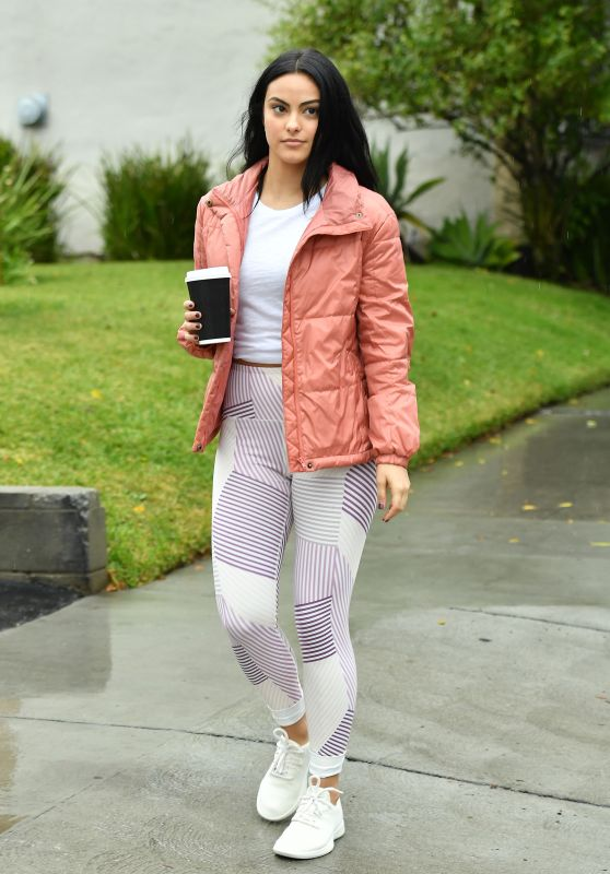 Camila Mendes in Tights 01/09/20196