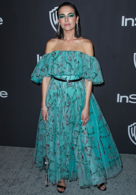 Camilla Belle – InStyle and Warner Bros Golden Globe 2019 After Party