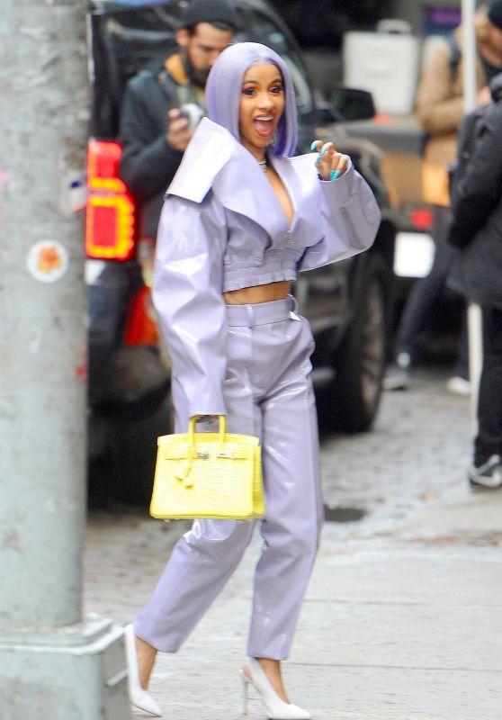 Cardi B Style and Fashion - NYC 01/08/2019