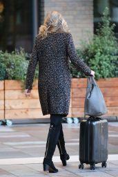 Carlotte Hawkins - Outside ITV Studios in London 01/22/2019