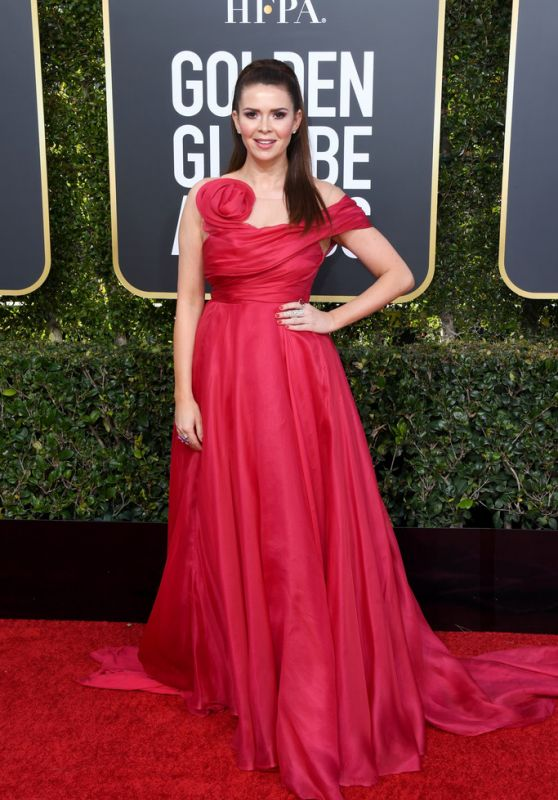 Carly Steel – 2019 Golden Globe Awards Red Carpet